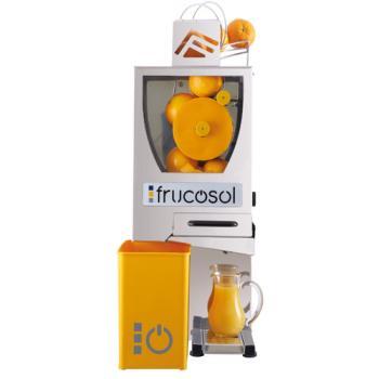 Frucosol F Compact Zitrusfrüchteentsafter - Automatische Orangenpresse in Edelstahl Ausführung